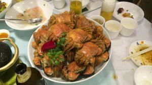 上海蟹、美味しかった(*^_^*)